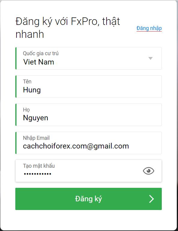 Trang đầu tư Forex uy tín