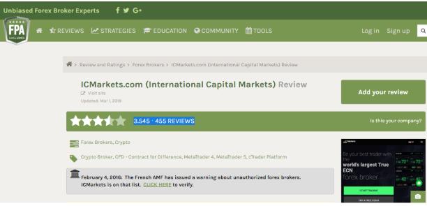 Nhận Xét Khách Quan Về Sàn IC Markets.