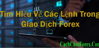 các lệnh trong giao dịch Forex