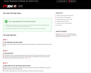 Hướng dẫn mở tài khoản Forex demo