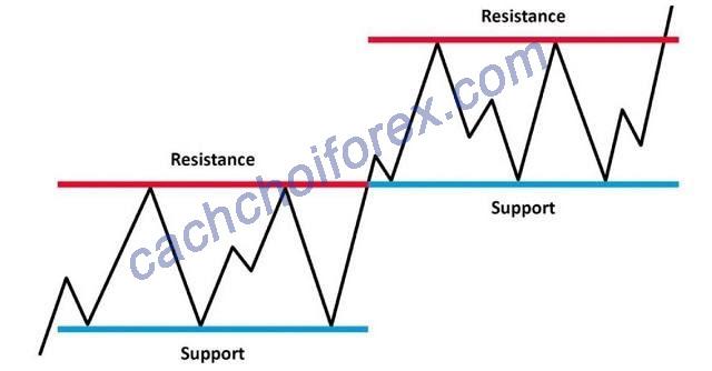 Xác định dựa trên biểu đồ đường